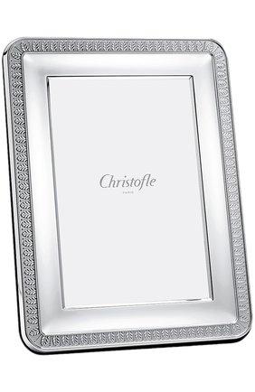 Мужская рамка для фотографии malmaison CHRISTOFLE серебряного цвета, арт. 04256006 | Фото 1