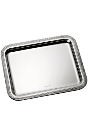 Мужского поднос malmaison CHRISTOFLE серебряного цвета, арт. 04200710 | Фото 1