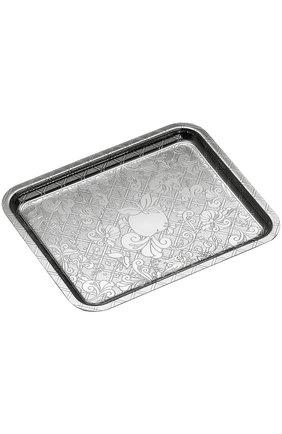Мужского поднос jardin d`eden CHRISTOFLE серебряного цвета, арт. 04200430 | Фото 1