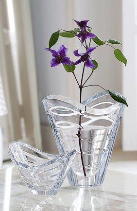 Мужская ваза wave BACCARAT прозрачного цвета, арт. 2 104 168 | Фото 2