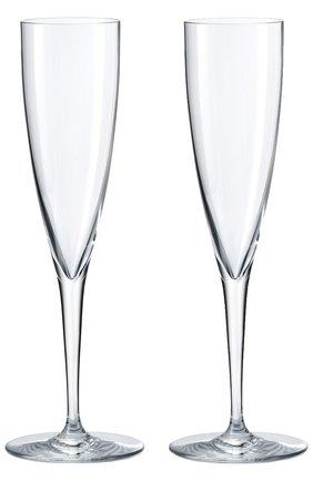 Мужского набор из 2-х фужеров шампанского dom perignon BACCARAT прозрачного цвета, арт. 1 845 244 | Фото 1