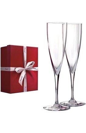 Мужского набор из 2-х фужеров шампанского dom perignon BACCARAT прозрачного цвета, арт. 1 845 244 | Фото 2