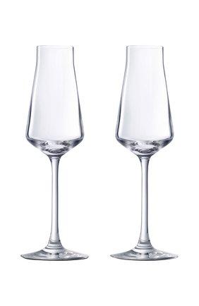 Мужского набор из 2-х фужеров для шампанского chateau baccarat BACCARAT прозрачного цвета, арт. 2 611 149 | Фото 1