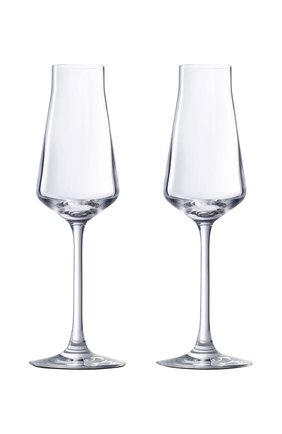 Набор из 2-х фужеров для шампанского chateau baccarat BACCARAT прозрачного цвета, арт. 2 611 149   Фото 1
