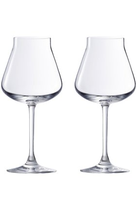 Мужского набор из 2-х фужеров для белого вина chateau baccarat BACCARAT прозрачного цвета, арт. 2 611 150 | Фото 1