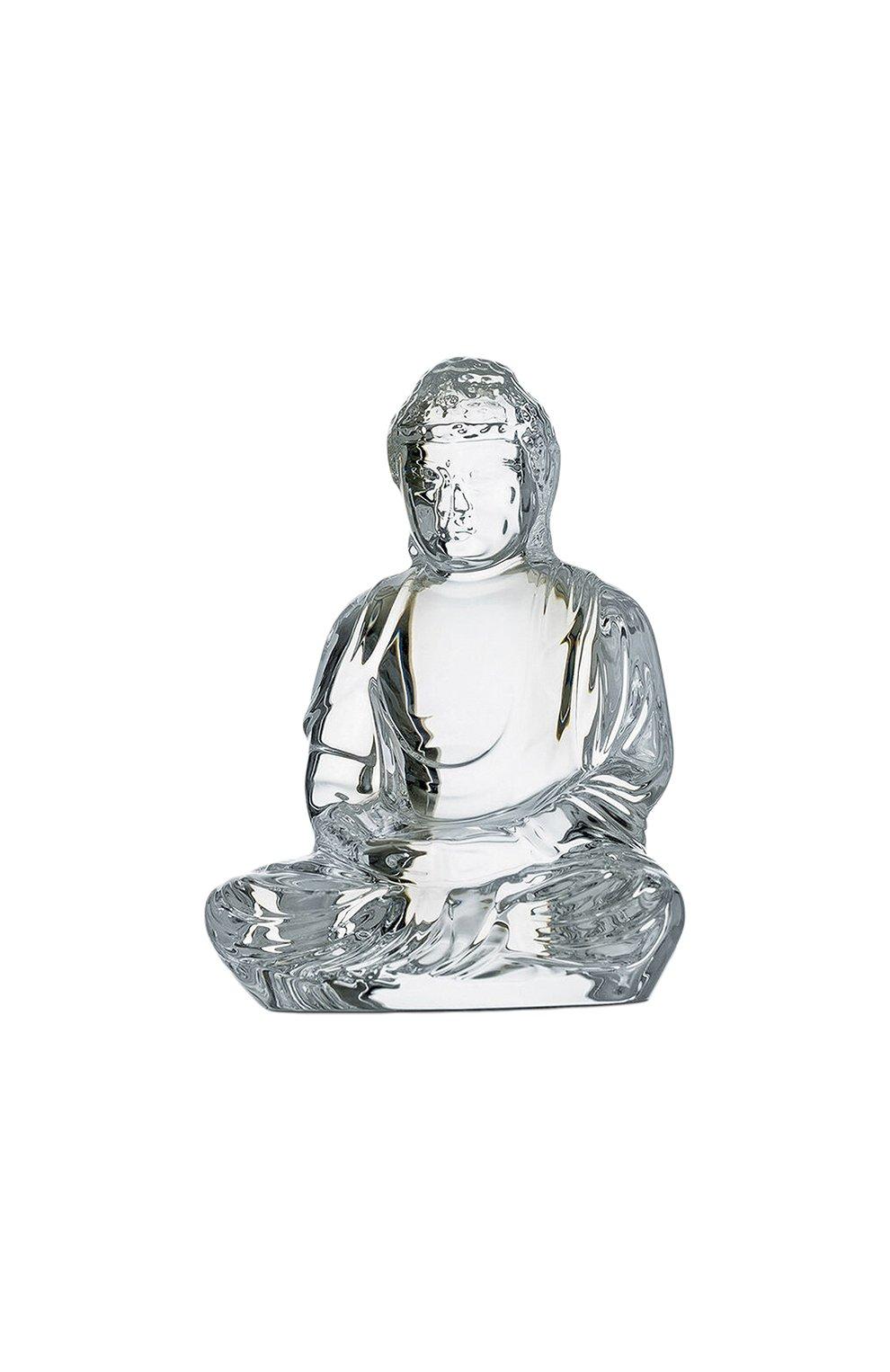Мужского скульптура little buddha BACCARAT прозрачного цвета, арт. 2 609 200   Фото 1