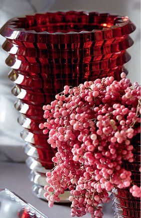 Мужская ваза eye oval BACCARAT красного цвета, арт. 2 807 199 | Фото 2