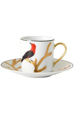 Мужского кофейная чашка aux oiseaux BERNARDAUD разноцветного цвета, арт. 2488/79 | Фото 1