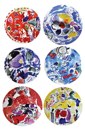 Набор из 6-ти тарелок Collection Marc Chagall | Фото №1
