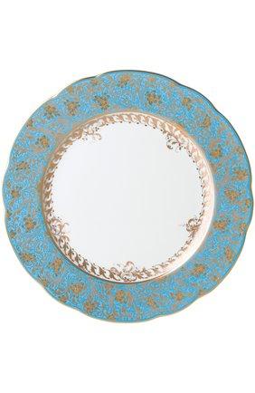 Тарелка салатная Eden Turquoise | Фото №1