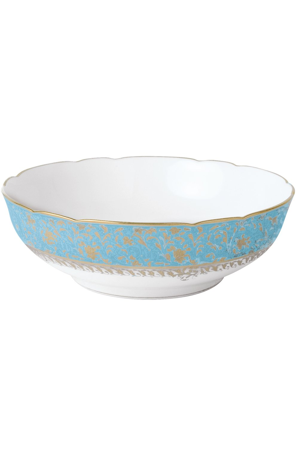 Мужского салатник eden turquoise BERNARDAUD голубого цвета, арт. 0144/127 | Фото 1