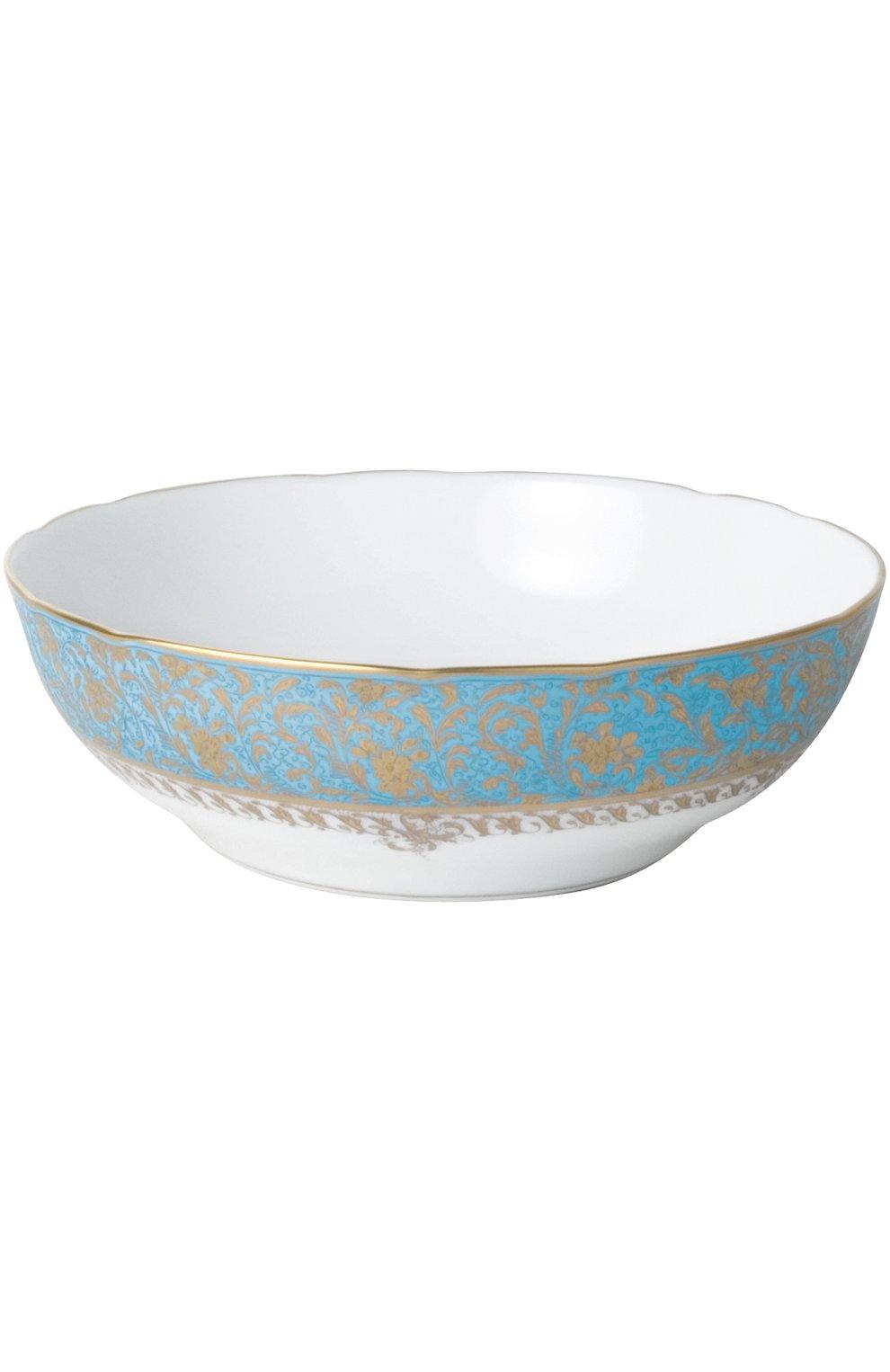 Мужского блюдо для овощей eden turquoise BERNARDAUD голубого цвета, арт. 0144/53 | Фото 1