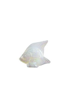 Мужского скульптура fish LALIQUE прозрачного цвета, арт. 10307700 | Фото 1
