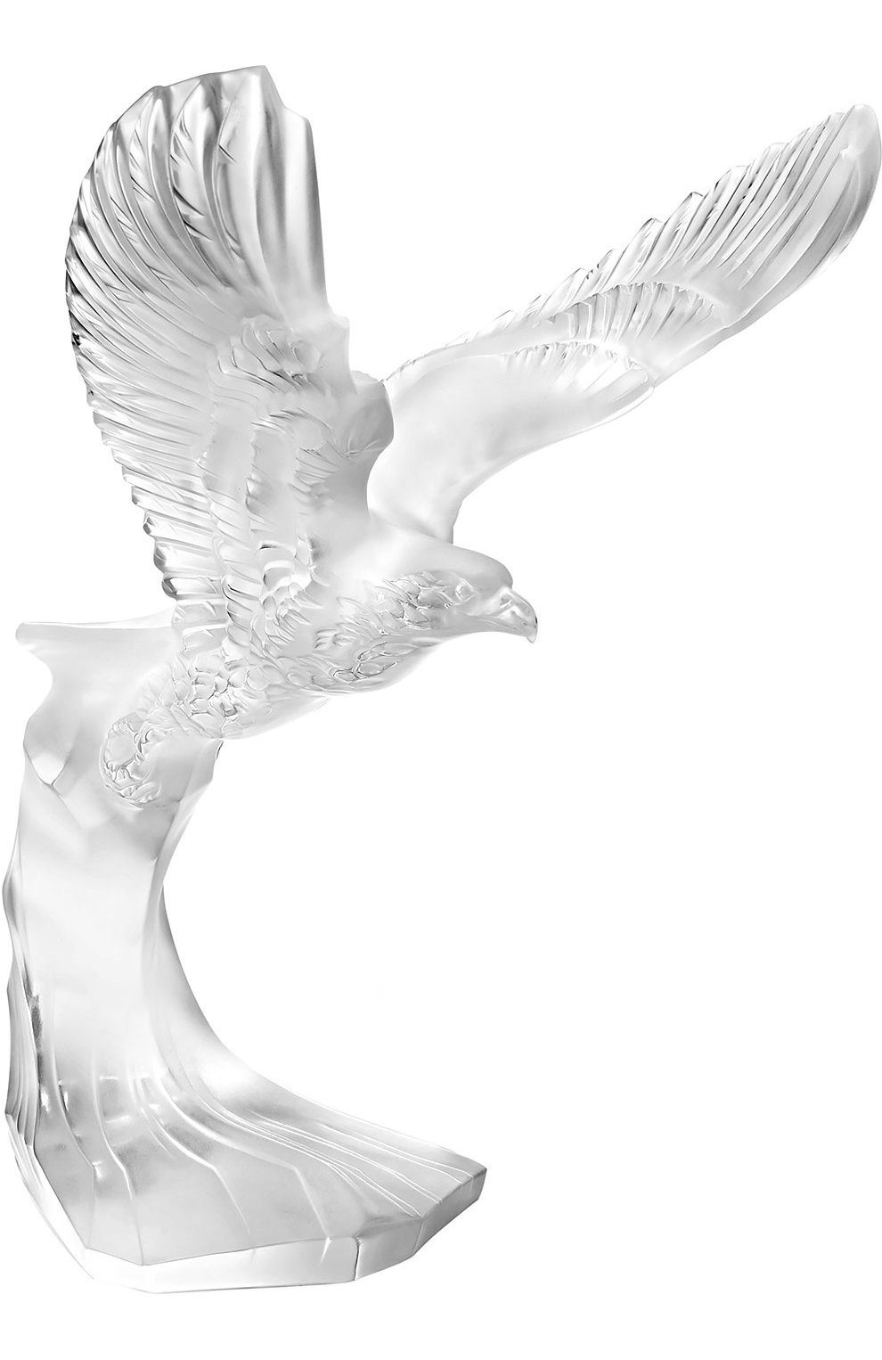 Мужского скульптура eagle LALIQUE прозрачного цвета, арт. 10364100 | Фото 1