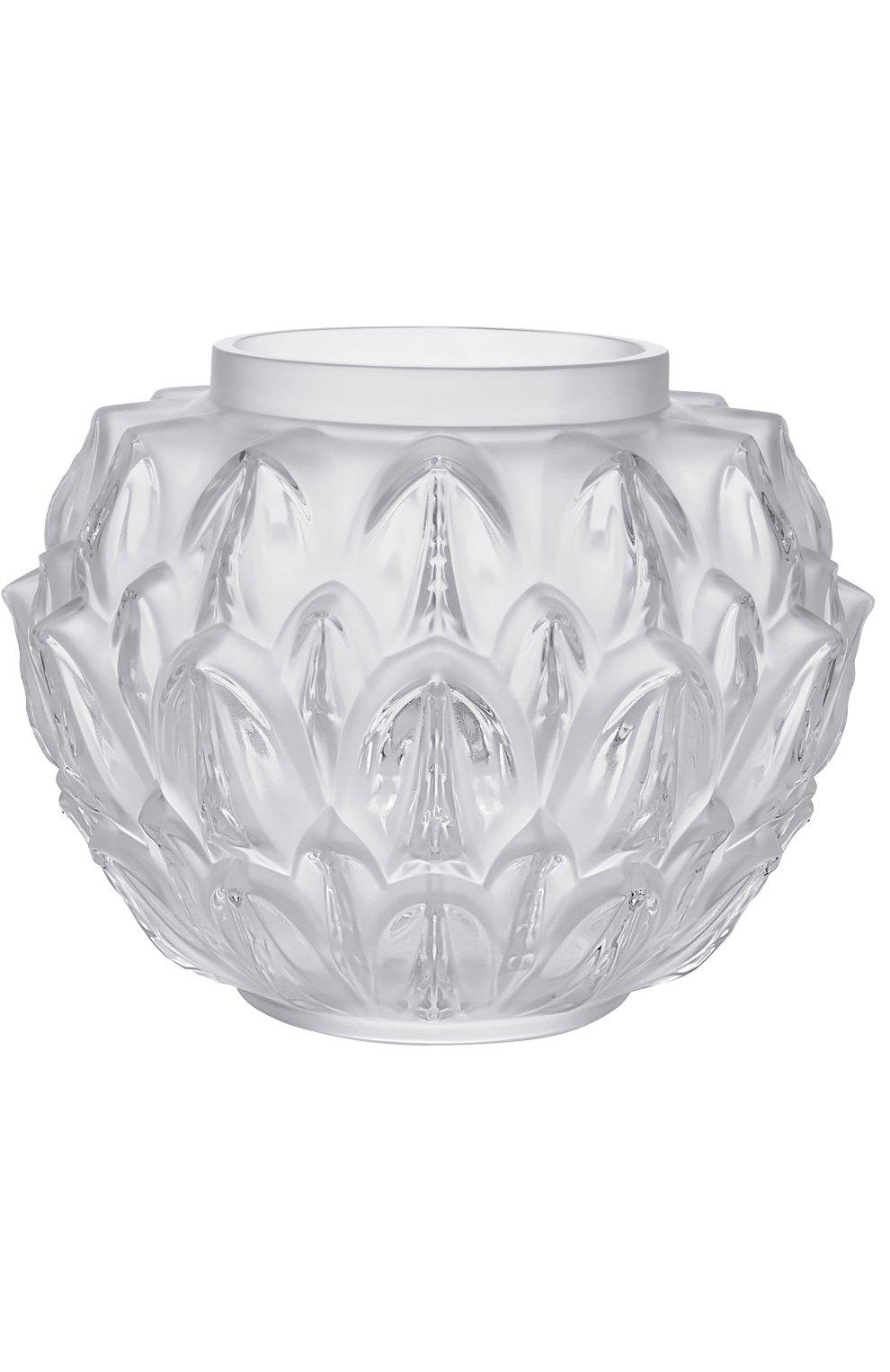 Мужского ваза cynara LALIQUE прозрачного цвета, арт. 10489100 | Фото 1
