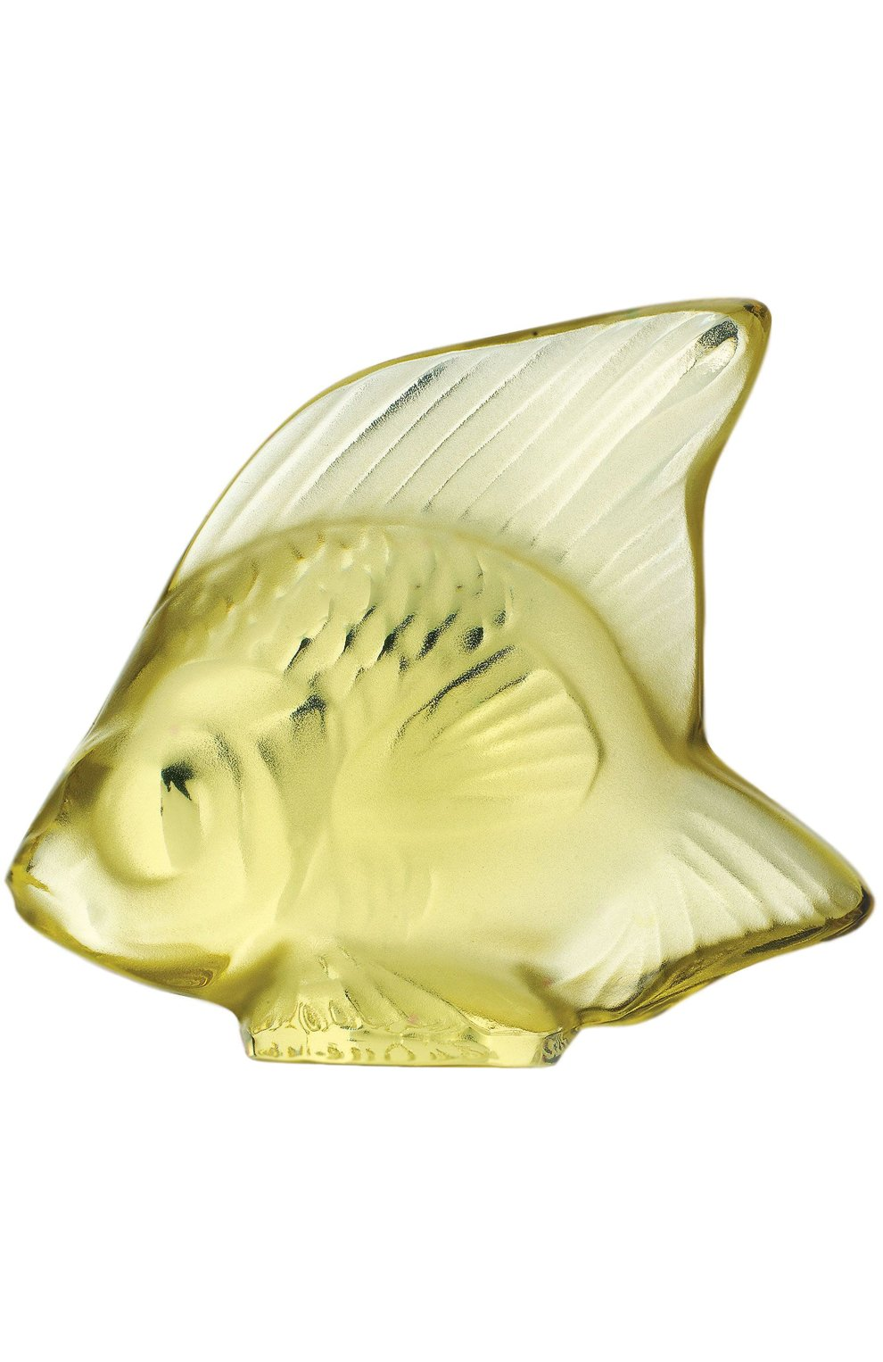Мужского скульптура fish LALIQUE зеленого цвета, арт. 3002400 | Фото 1