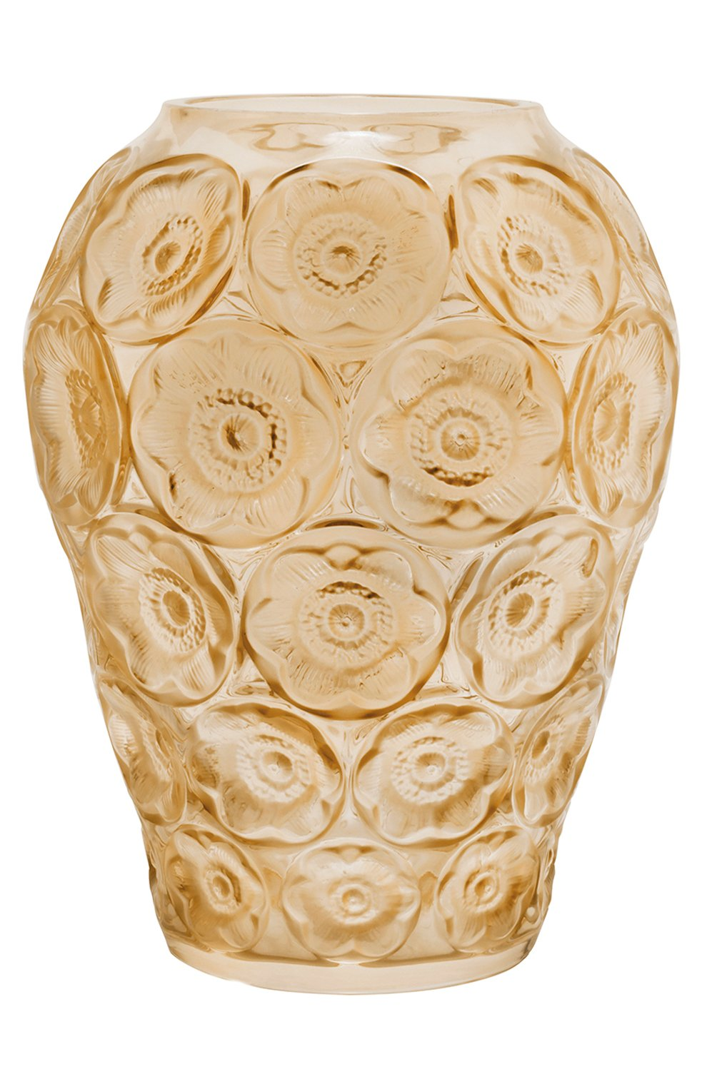 Мужского ваза anemones LALIQUE золотого цвета, арт. 10518500 | Фото 1