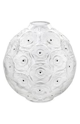 Мужского ваза anemones LALIQUE прозрачного цвета, арт. 10518800   Фото 1