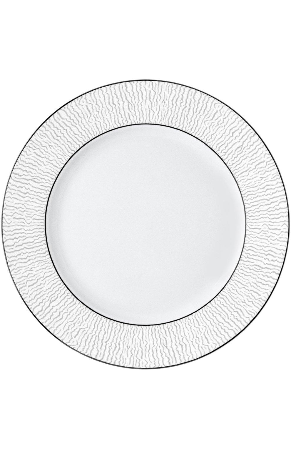 Мужского тарелка обеденная dune BERNARDAUD белого цвета, арт. 1359/13 | Фото 1