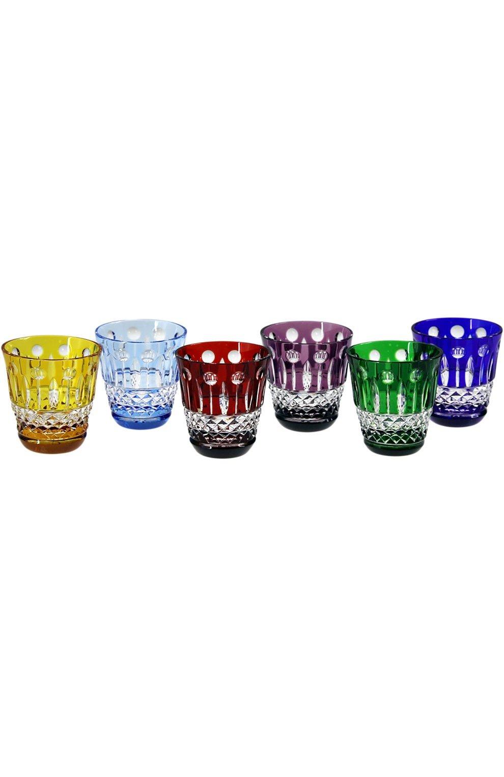 Мужского набор из 6-ти рюмок для водки xenia TSAR разноцветного цвета, арт. 530086 | Фото 1