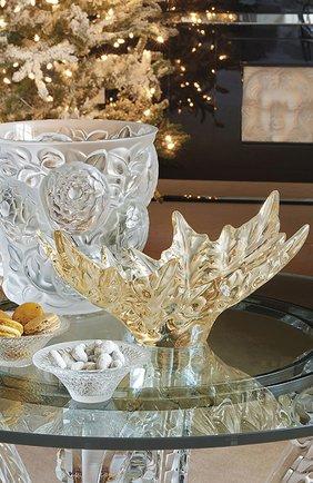 Мужского ваза для фруктов champs-elysee LALIQUE золотого цвета, арт. 1121610 | Фото 2