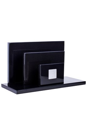 Мужского подставка для писем perles LALIQUE черного цвета, арт. 10217700 | Фото 2