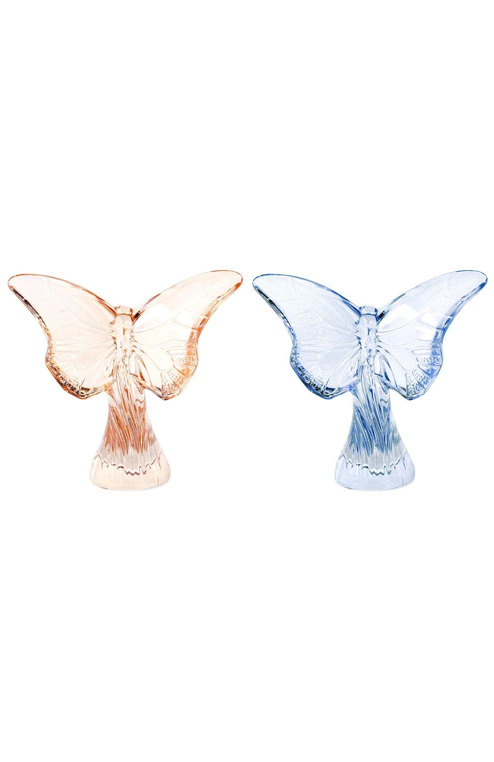 Мужского набор из 2-х бабочек  LALIQUE разноцветного цвета, арт. 10370800 | Фото 1