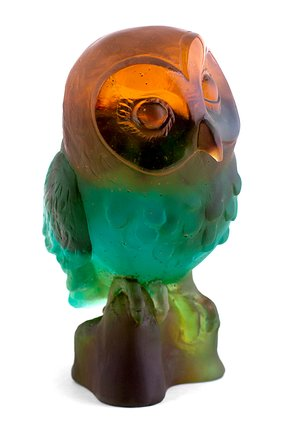 Скульптура edwige owl DAUM разноцветного цвета, арт. 05306 | Фото 2