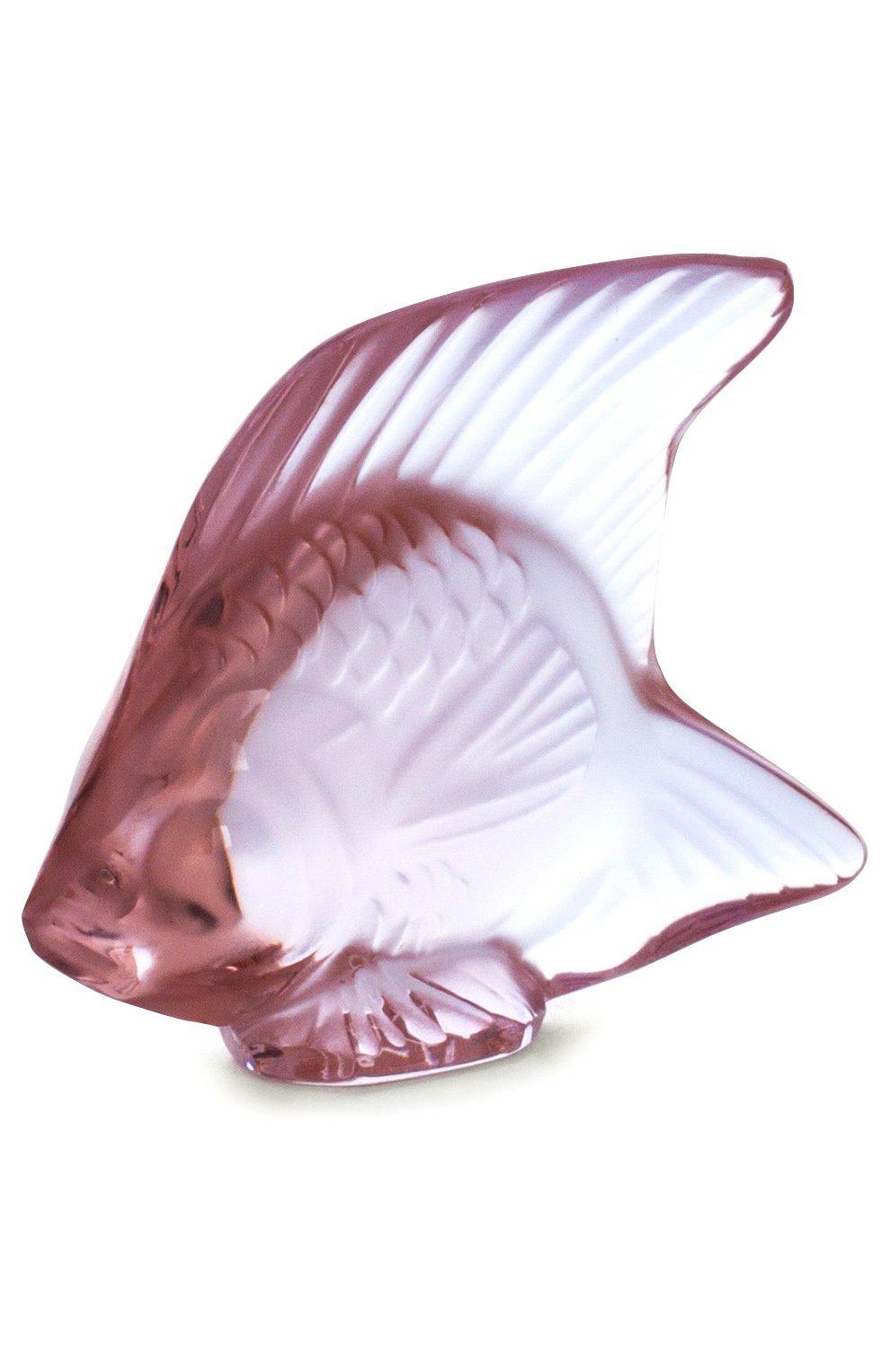 Мужского скульптура fish LALIQUE красного цвета, арт. 3001700 | Фото 2