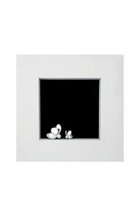 Мужская рамка для фотографии beebee CHRISTOFLE серебряного цвета, арт. 04256955 | Фото 1
