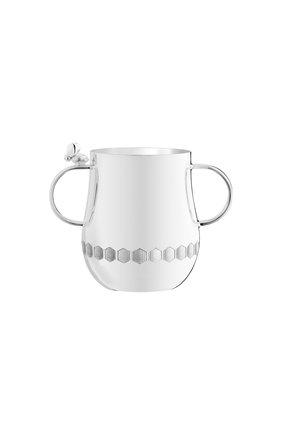 Мужского чашка с ручками beebee CHRISTOFLE серебряного цвета, арт. 04260705   Фото 1