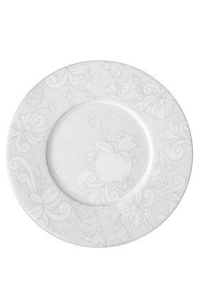 Мужского тарелка для хлеба и масла jardin d'eden CHRISTOFLE белого цвета, арт. 07683140   Фото 1