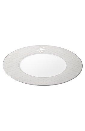 Мужского тарелка подстановочная jardin d'eden CHRISTOFLE белого цвета, арт. 07683270   Фото 2