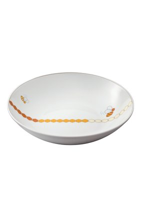 Набор из тарелки и ложки beebee CHRISTOFLE белого цвета, арт. 07754105 | Фото 2
