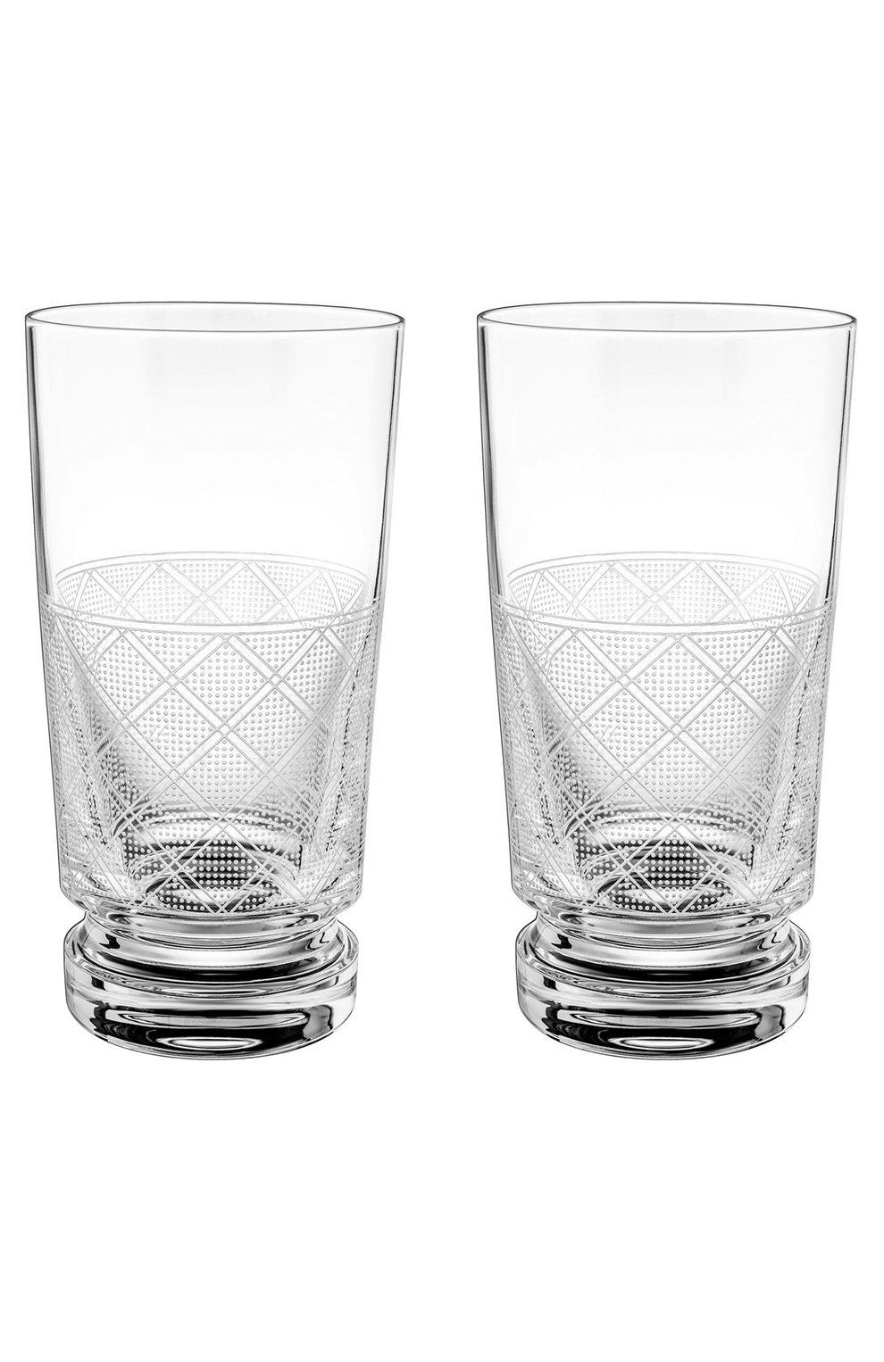 Мужского набор из 2-х стаканов для сока jardin d'eden CHRISTOFLE прозрачного цвета, арт. 07927270 | Фото 1