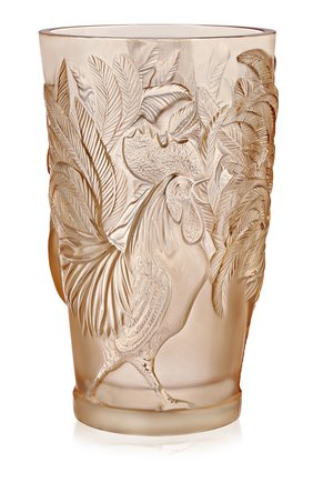 Мужская ваза rooster LALIQUE золотого цвета, арт. 10549100 | Фото 1