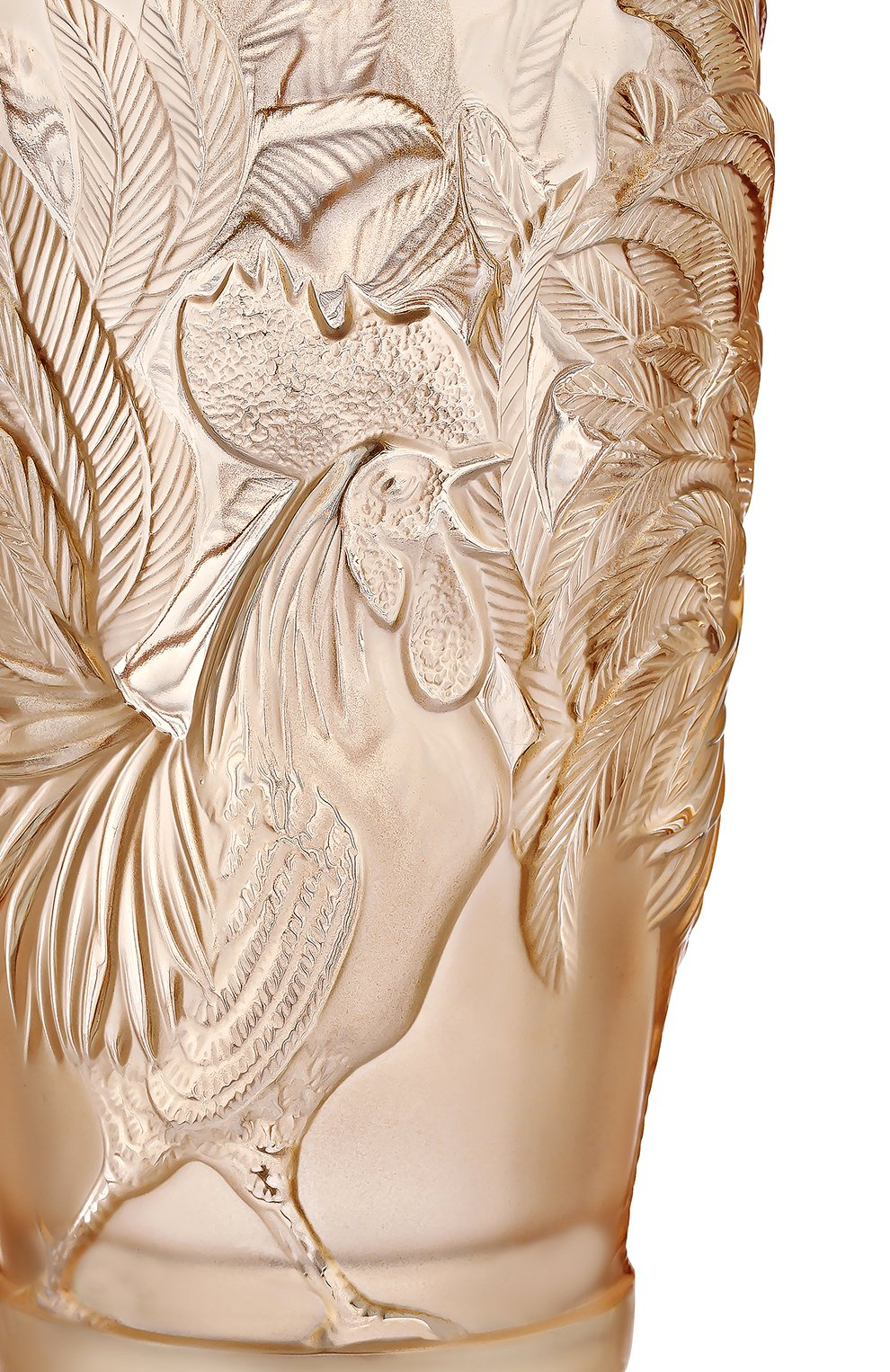 Мужского ваза rooster LALIQUE золотого цвета, арт. 10549100   Фото 2