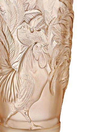 Мужская ваза rooster LALIQUE золотого цвета, арт. 10549100 | Фото 2