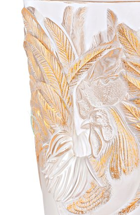 Мужская ваза rooster LALIQUE золотого цвета, арт. 10549200 | Фото 2