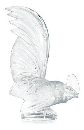 Мужского пресс-папье bantam LALIQUE прозрачного цвета, арт. 1180000 | Фото 1