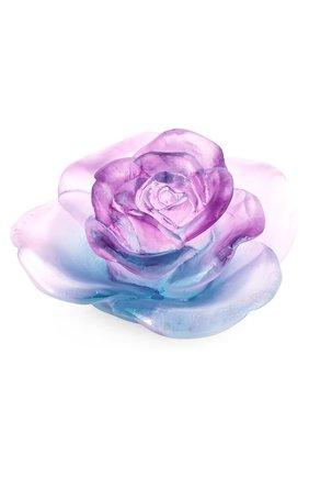 Мужского фигурка цветок розы DAUM фиолетового цвета, арт. 05290-3 | Фото 1