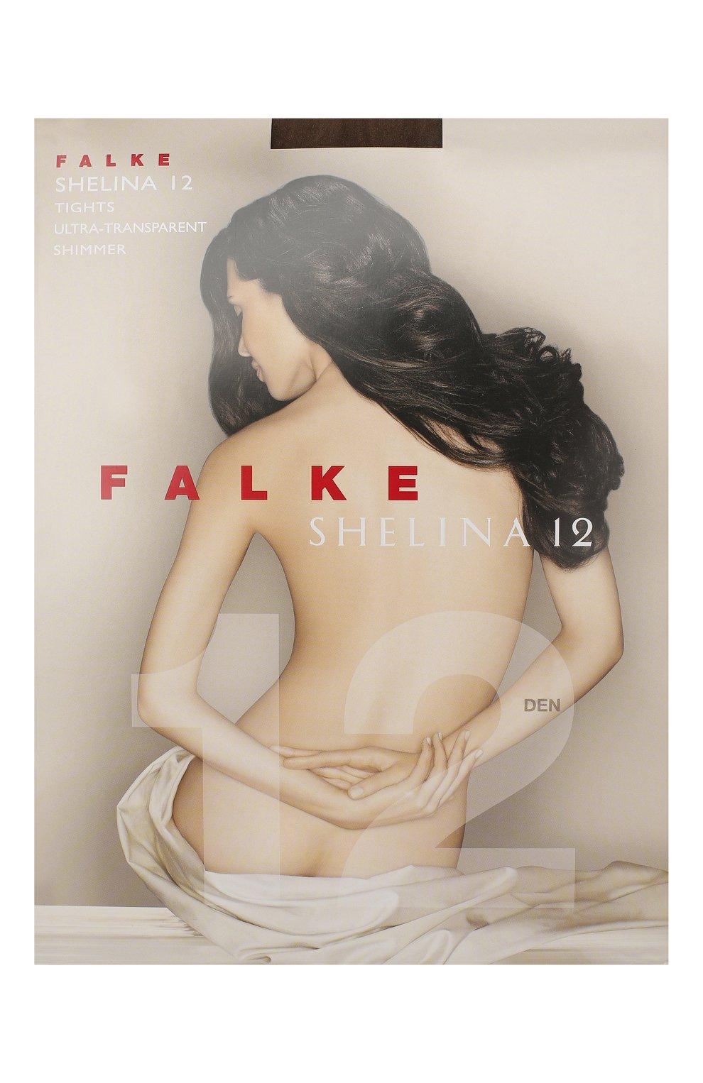 Женские капроновые колготки shelina FALKE коричневого цвета, арт. 40027_   Фото 1