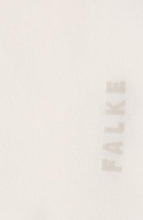 Женские хлопковые носки cotton touch FALKE белого цвета, арт. 47673_ | Фото 2