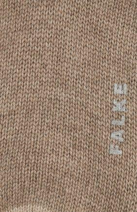 Женские кашемировые носки №1 FALKE бежевого цвета, арт. 46592_ | Фото 2