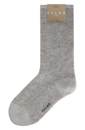 Женские кашемировые носки №1 FALKE серого цвета, арт. 46592_ | Фото 1