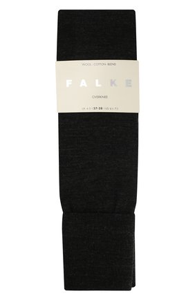 Женские гольфы striggings из смеси шерсти и хлопка FALKE темно-серого цвета, арт. 46860_ | Фото 2