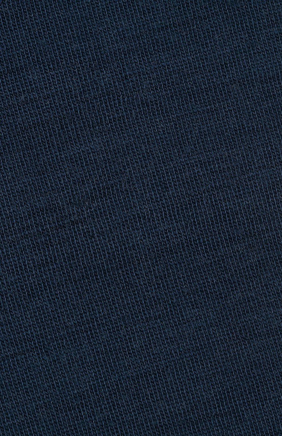 Женские гольфы softmerino из смеси шерсти и хлопка FALKE синего цвета, арт. 47438_18_   Фото 4