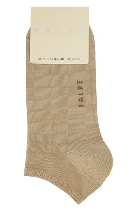 Женские хлопковые носки nautical sn FALKE бежевого цвета, арт. 46285_ | Фото 1