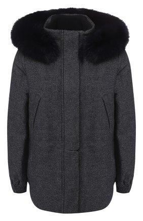 Куртка из смеси кашемира и шерсти | Фото №1