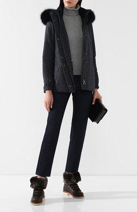 Куртка из смеси кашемира и шерсти | Фото №2